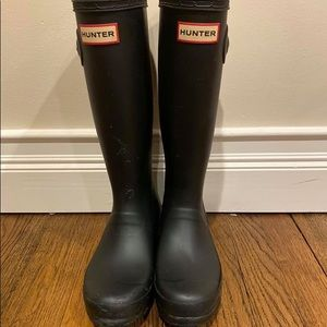 Hunter Rain Boots size 4/5